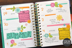 Early Summer Planner Spread