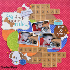 Me & You - Puppy Layout