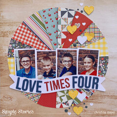 Love Times Four