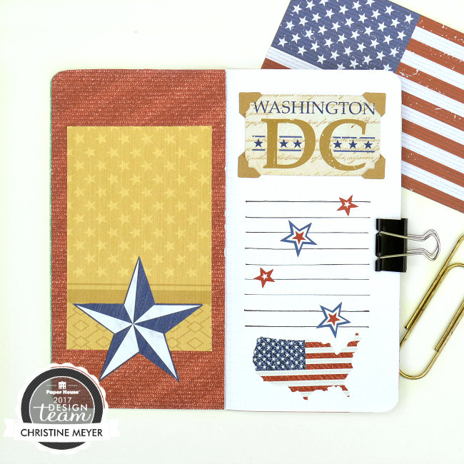 Washington DC Traveler's Notebook