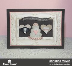 Wedding Card - Paper House Productions