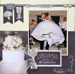 Wedding Layout - Paper House Productions