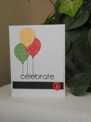 Celebrate - Balloon Card