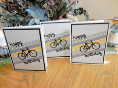 Bicycle Birthday Washi Card