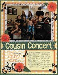 Cousin Concert