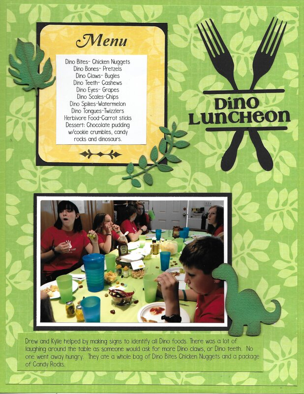 Dino Luncheon