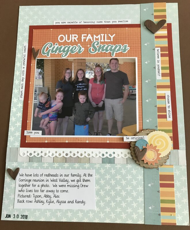 Our Family Ginger Snaps