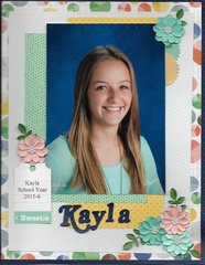 Kayla School Year 2015-16
