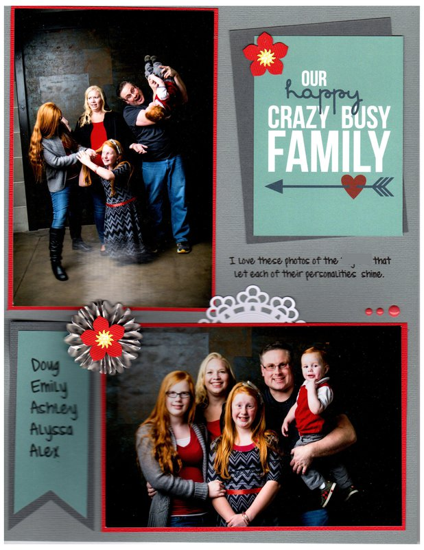 Happy, Crazy, Busy Family
