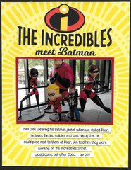The Incredibles Meet Batman
