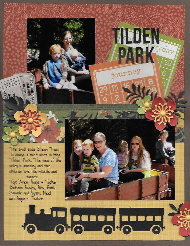 Tilden Park Steam Train