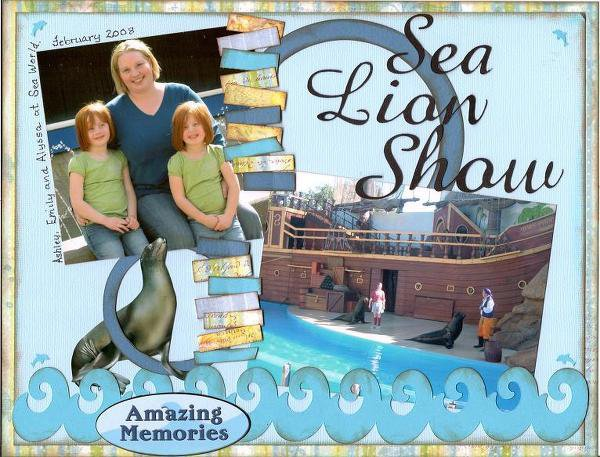 Sea Lion Show *CG 2009 & BOS Challenges*
