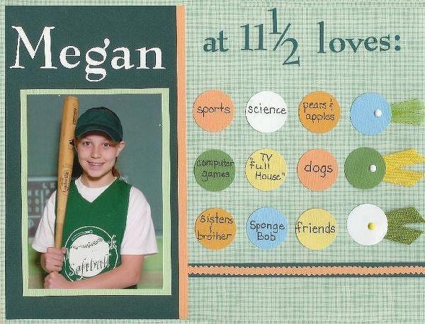 Megan at 11 1/2      *BOS Challenge*