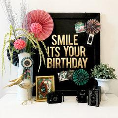 Maggie Holmes Flourish Birthday Decor