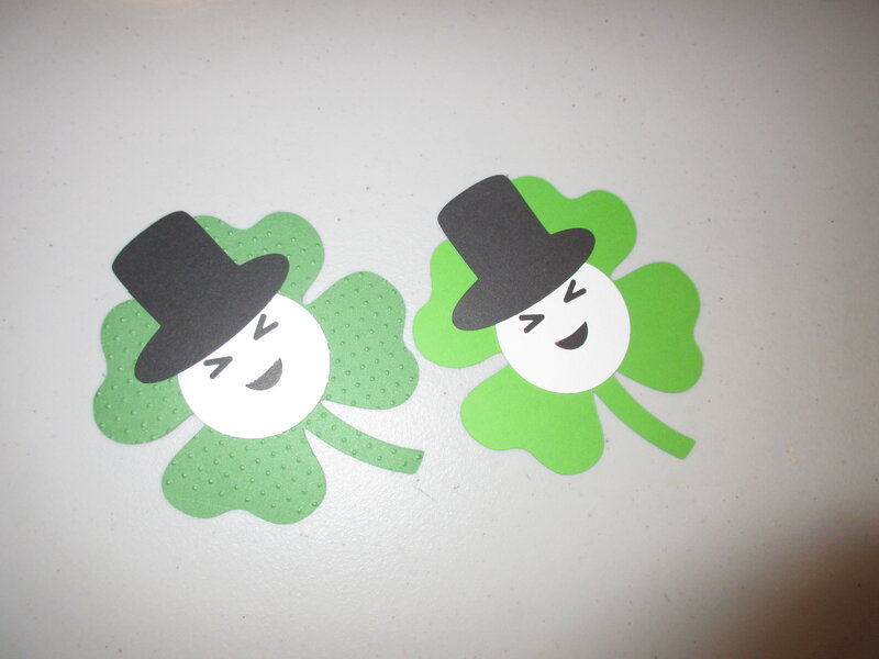 smiling clovers for kindergarden class