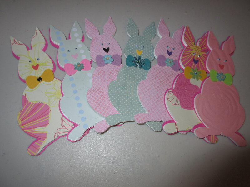 bunnies for kindergarden class (never given out cause of virus)