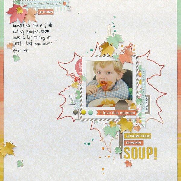 Pumpkin Soup by Melinda Spinks
