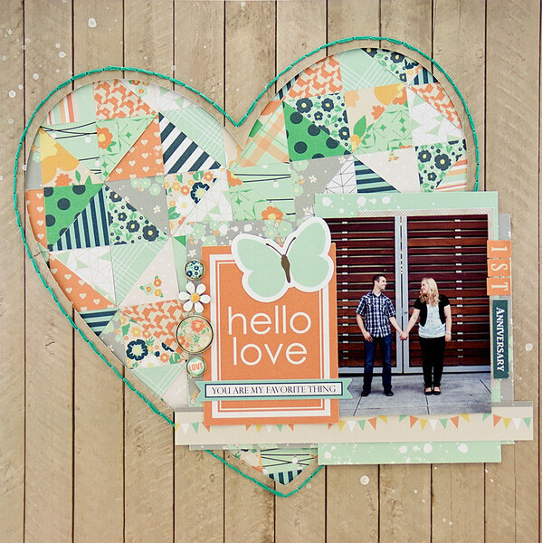 Hello Love by Allie Stewart