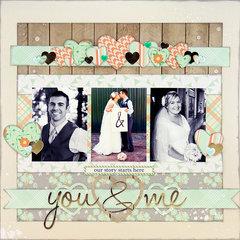 You & Me by Allie Stewart