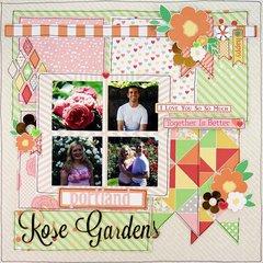 Rose Gardens by Allie Stewart