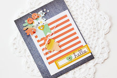 Hello card by Erin Taylor