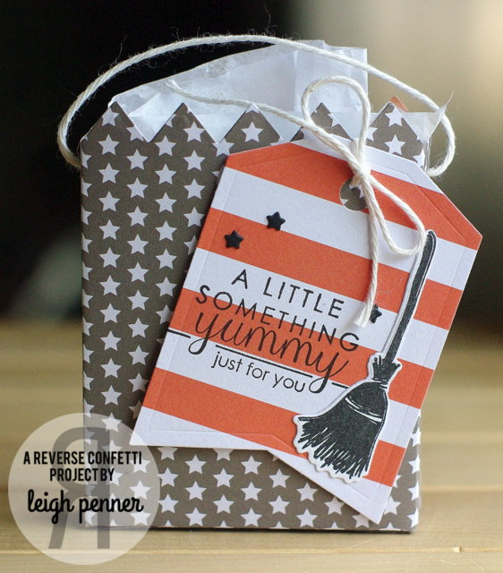 Halloween treat bag by Leigh Penner