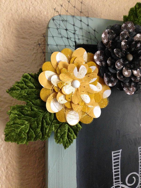 Halloween Floral Garland