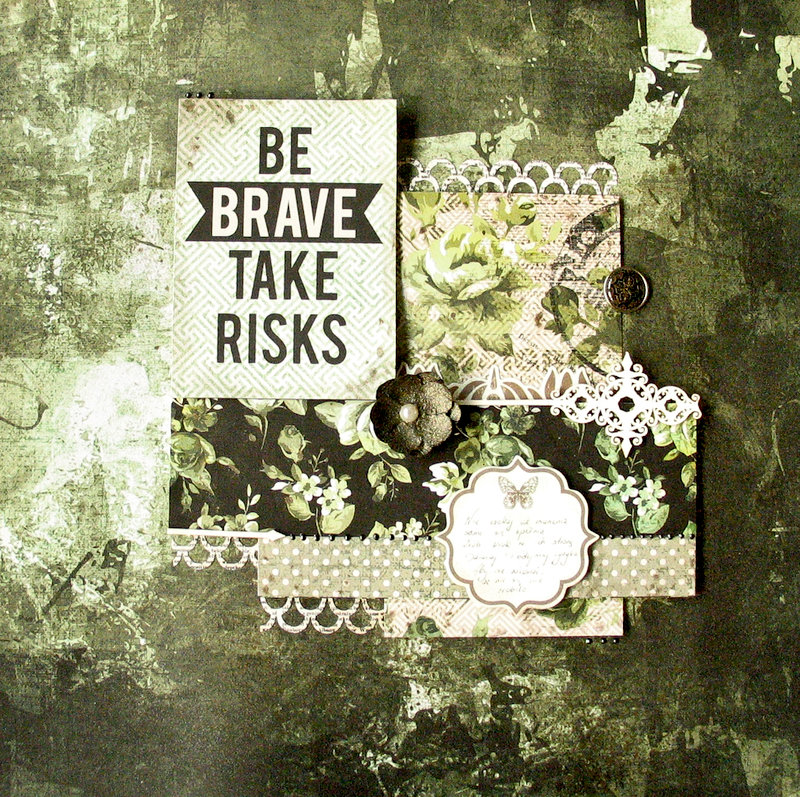 Be brave, take risks