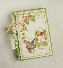 Notebook from garden
