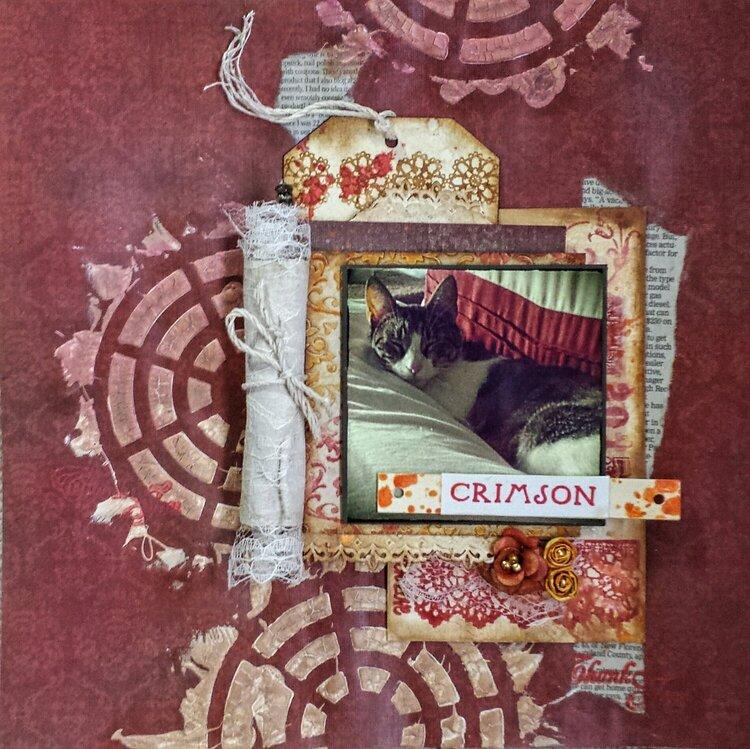 Crimson - Journaling Inside the Scroll