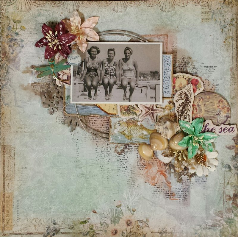 """The Sea"" - Scraps of Elegance ""By the Sea"" Kit"