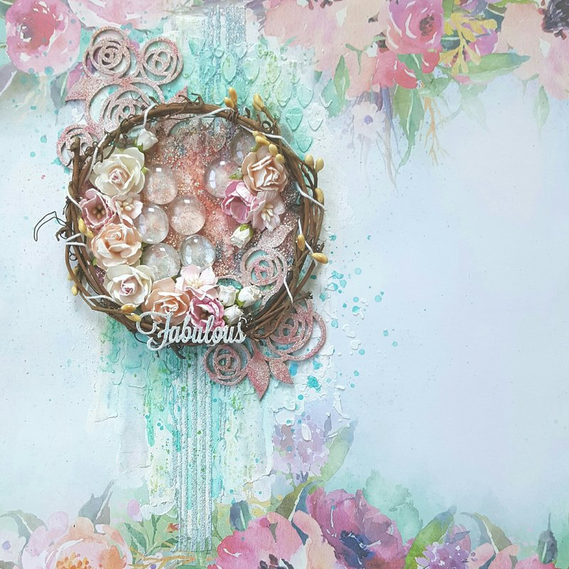 """Fabulous"" - Mixed Media & Art Challenge"