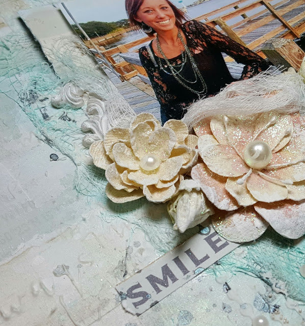 """Smile"" - VIDEO TUTORIAL - Scraps of Darkness Seaside Kit"