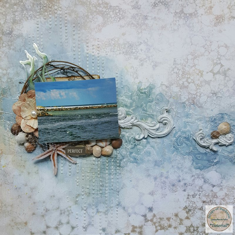 """Perfect"" - VIDEO TUTORIAL - Scraps of Darkness Seaside Kit"