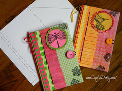 WONDERFUL HANDMADE GIFT Notepad Covers