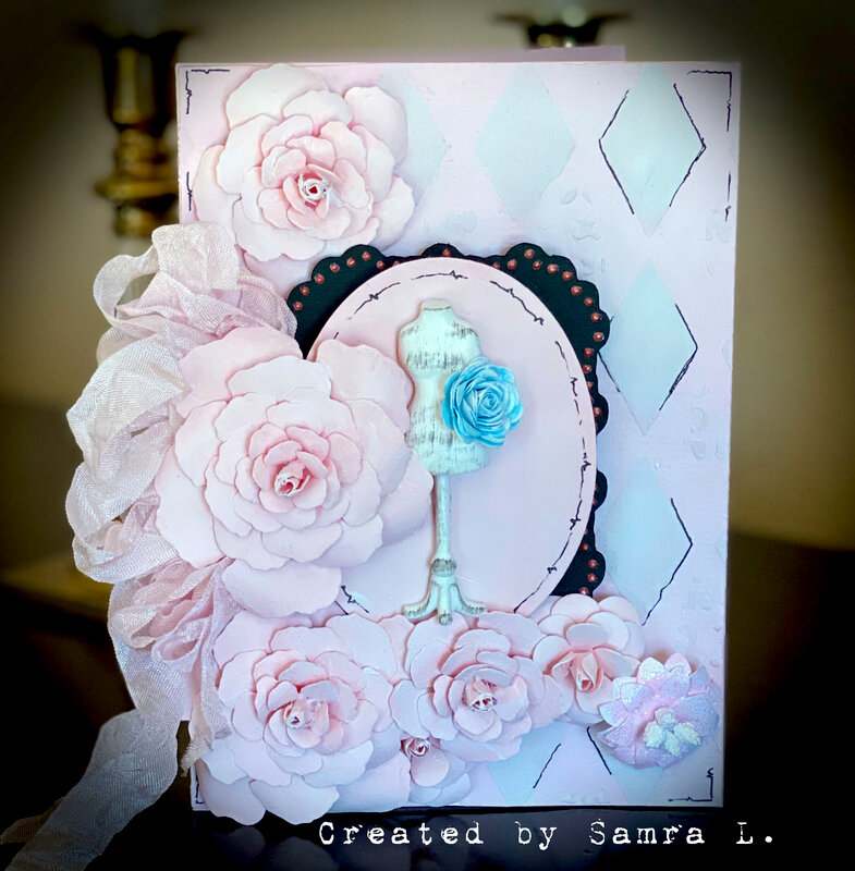 Shabby Chic Mannequin card