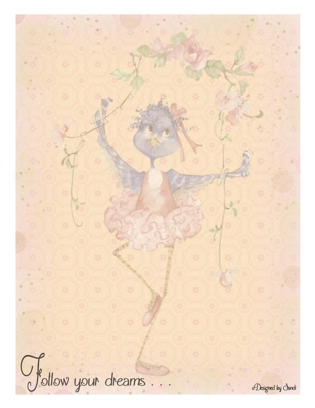 Dancing Blue Bird