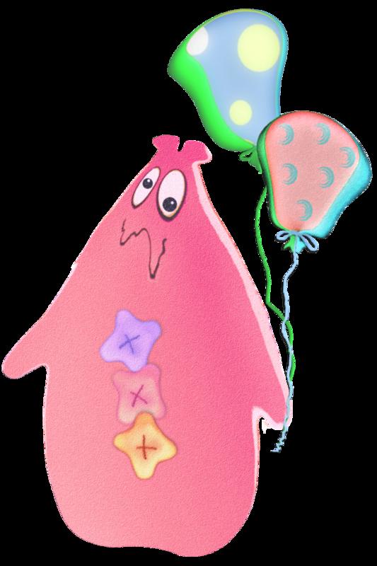 Embellishment: Alien Critter and Balloons