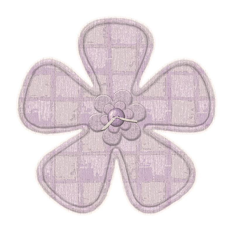 Flower Button 1