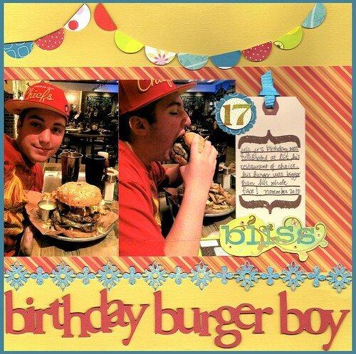 Birthday Burger Boy