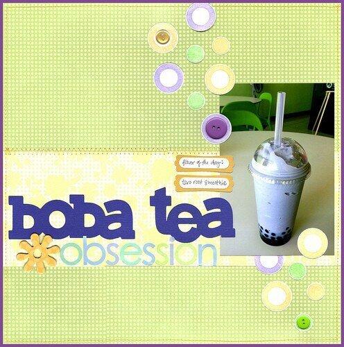 Boba Tea Obsession