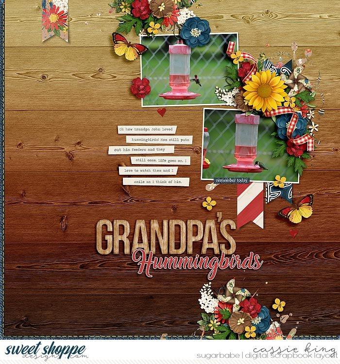 Grandpa's Hummingbirds