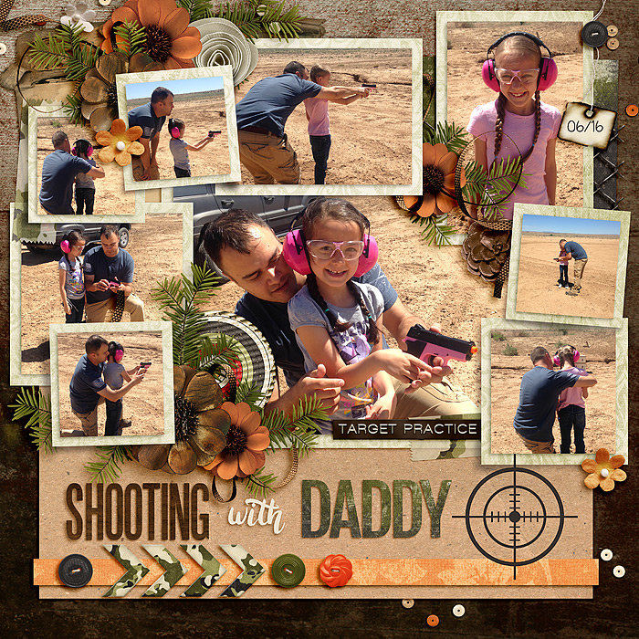 Shooting with Daddy