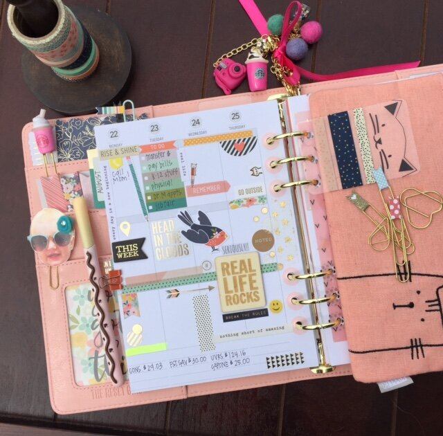 Carpe Diem 2016 Planner...NEW Simple Stories/The Reset Girl