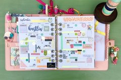 Carpe Diem 2016 Planner - NEW Simple Stories/The Reset Girl