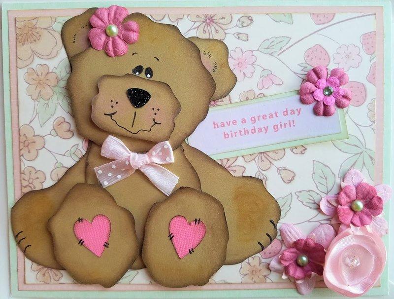 Tear Bear Birthday card