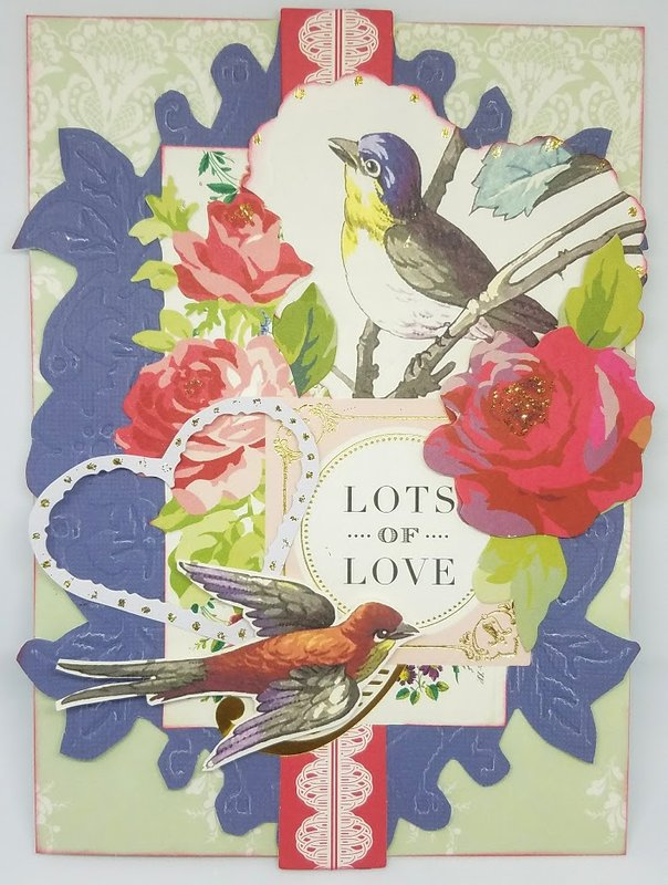 Lots of Love Valentine card
