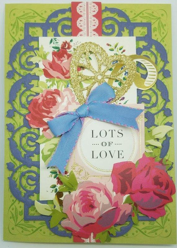 Non traditional Valentine card