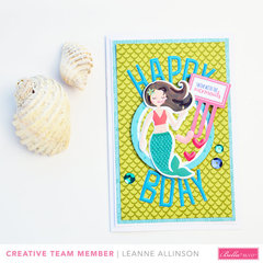*Bella Blvd* - Secrets of the Sea Girl card