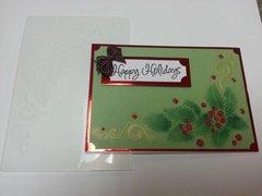 Happy Holidays by Gina Gerfen